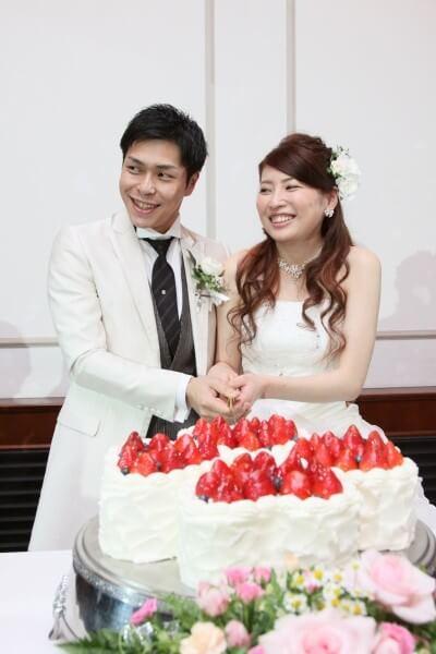 ケーキカット 演出