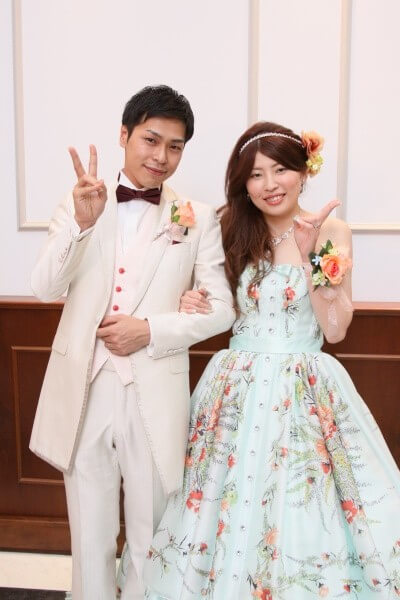 結婚式 新郎新婦