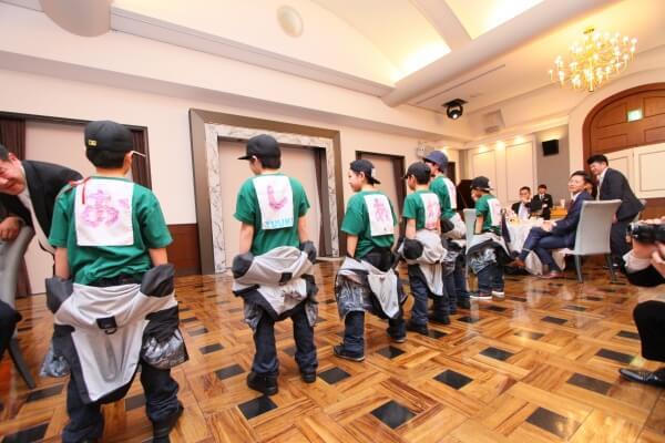 新潟市結婚式場 余興 ダンス ちびっこ