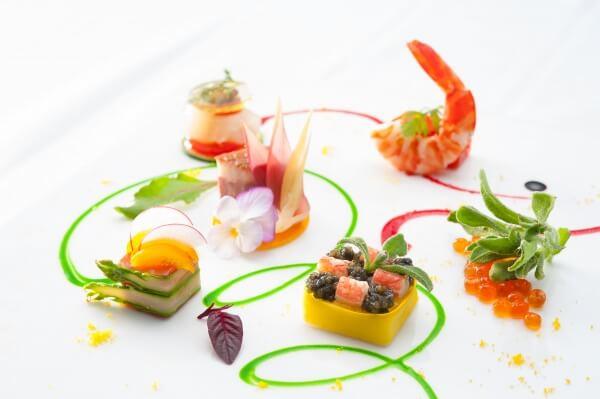 新潟市結婚式場 結婚式料理 フェア料理 結婚式