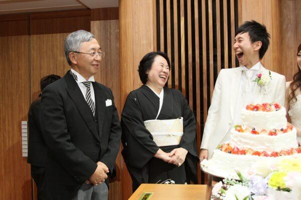 新潟市結婚式場 親の想い サプライズ ファーストバイト ラストバイト 感謝