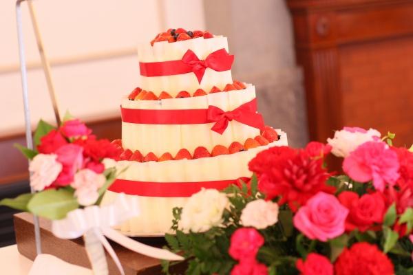 新潟市結婚式場ブライダルステージデュオ ウェディングケーキ