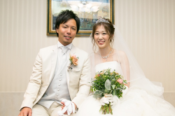 【最新!パーティーレポート☆】野球愛が詰まった結婚式、プレイボール!~挙式編~