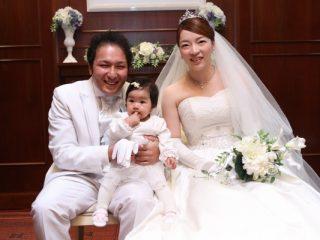 新潟市結婚式場 ブライダルステージDuo グランシャリオ オリジナルウェディング ウェディングドレス チャペル パパママキッズ婚