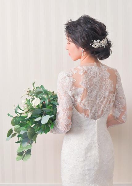 新潟市結婚式場 ブライダルステージDuo グランシャリオ オリジナルウェディング 記念写真 前撮り写真 ウェディングドレス