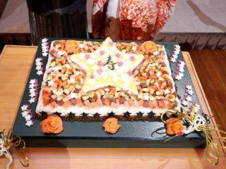新潟市結婚式場ブライダルステージデュオ ちらし寿司カット