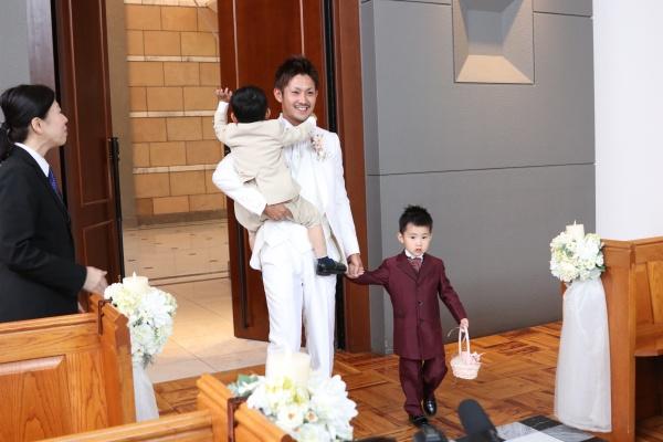 【パパママキッズ婚❤ウェディング】お子様みんなが楽しい!チャペルウェディング編のご紹介♪