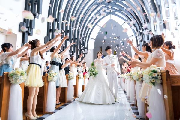 新潟市結婚式場 ブライダルステージデュオ チャペル