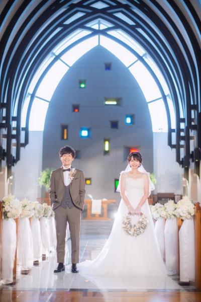 新潟市結婚式場ブライダルステージデュオ チャペル 前撮り