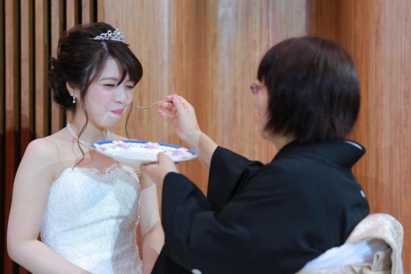 新潟市結婚式場ブライダルステージデュオ ケーキ ラストバイト