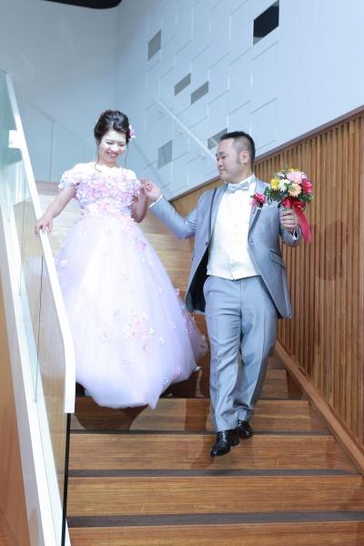 新潟市結婚式場ブライダルステージデュオ お色直し入場