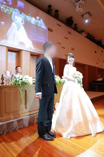 新潟市結婚式場ブライダルステージデュオ 退場 エスコート
