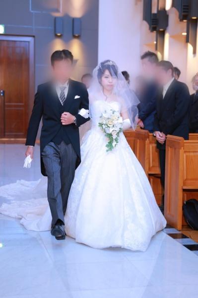 新潟市結婚式場ブライダルステージデュオ チャペル 入場