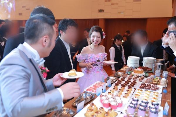 新潟市結婚式場ブライダルステージデュオ デザートビュッフェ
