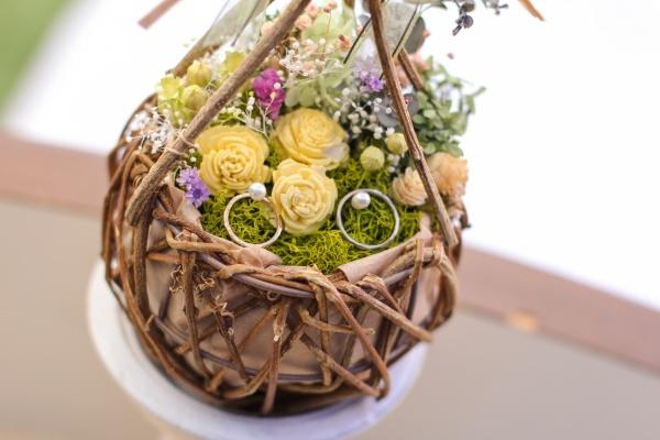 新潟市結婚式場ブライダルステージデュオ リングピロー