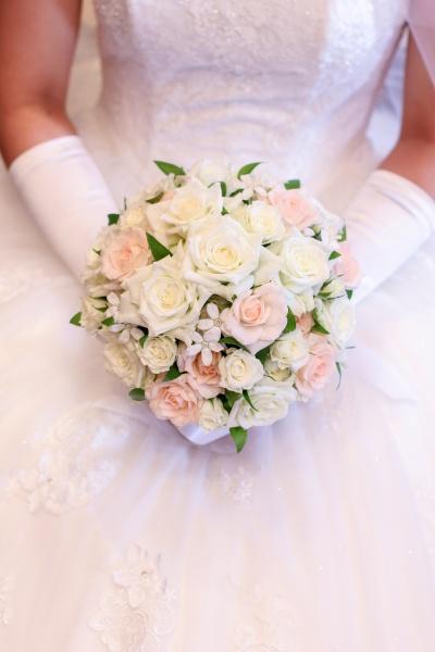 新潟市結婚式場 ブライダルステージデュオ 花 ブーケ テーブル装花