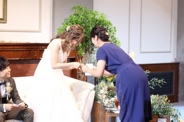 新潟市結婚式場ブライダルステージデュオ 新郎新婦 友人スピーチ