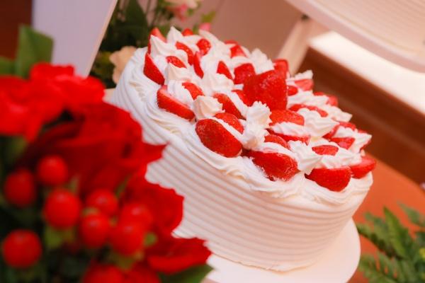 新潟市結婚式場ブライダルステージデュオ  ケーキ
