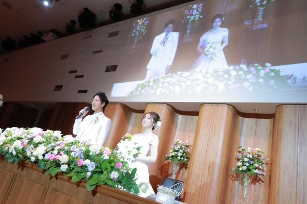 新潟市結婚式場ブライダルステージデュオ ウェルカムスピーチ