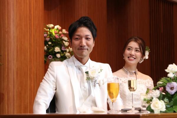 新潟市結婚式場ブライダルステージデュオ 友人スピーチ