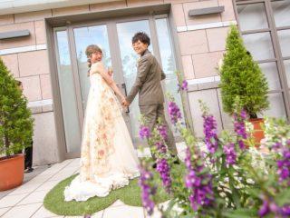 新潟市結婚式場ブライダルステージデュオ お色直し 入場