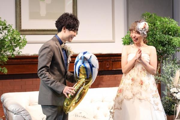 新潟市結婚式場ブライダルステージデュオ 余興