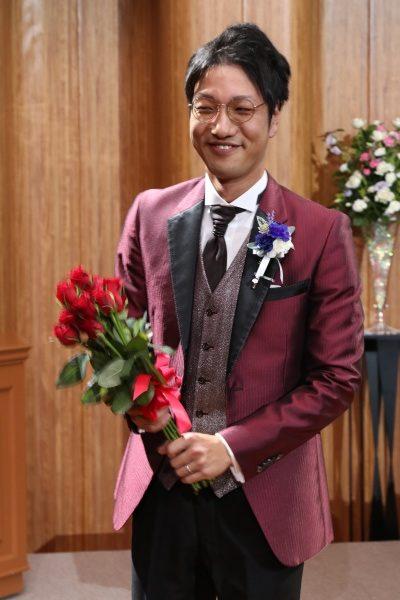 新潟市結婚式場ブライダルステージデュオ 新郎 入場