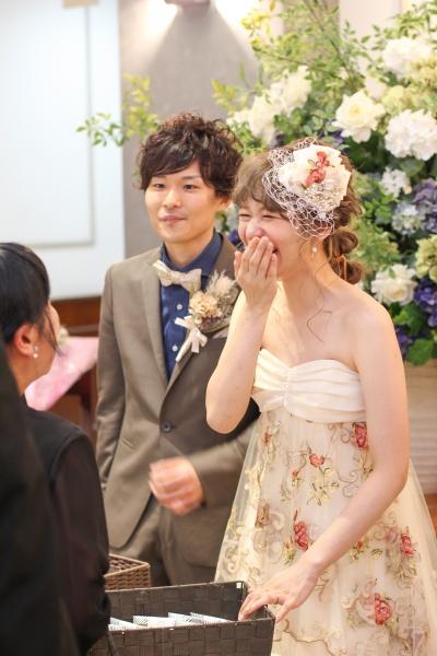 新潟市結婚式場ブライダルステージデュオ お見送り プチギフト