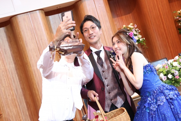 新潟市結婚式場ブライダルステージデュオ  洋樽クラッカー ゲーム