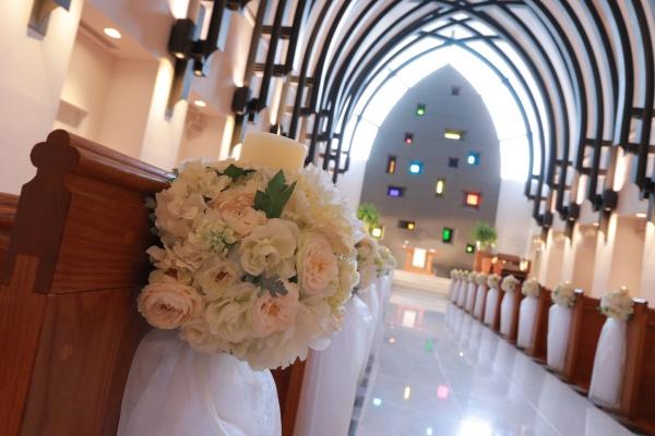 新潟結婚式場 ブライダルステージデュオ グランシャリオ チャペル