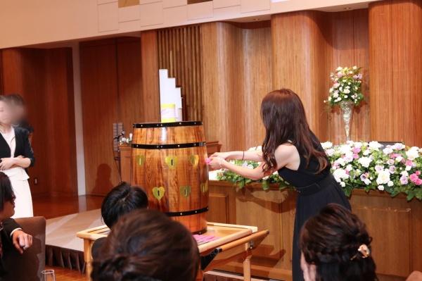 新潟市結婚式場ブライダルステージデュオ 洋樽クラッカー