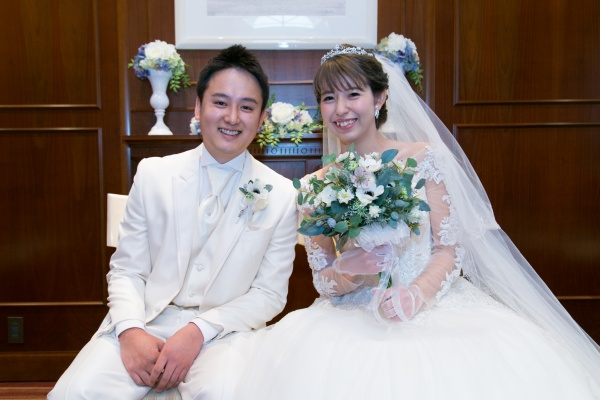 新潟市結婚式場ブライダルステージ 新郎新婦