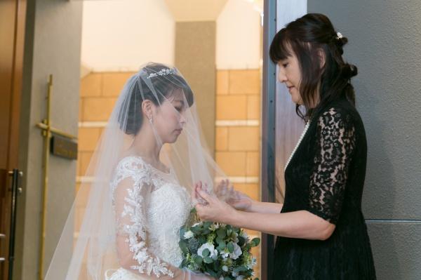 新潟市結婚式場ブライダルステージ ベールダウン