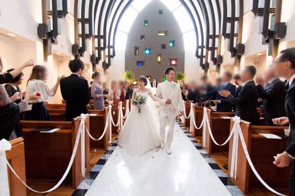 新潟市結婚式場ブライダルステージデュオ フラワーシャワー