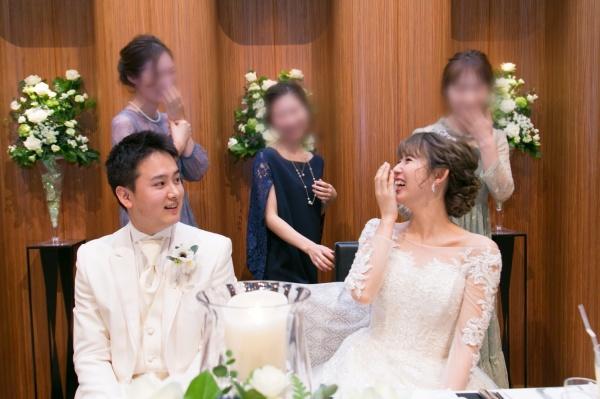 新潟市結婚式場ブライダルステージデュオ 歓談