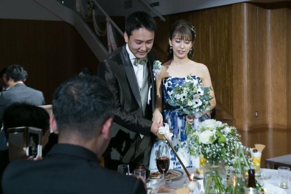 新潟市結婚式場ブライダルステージデュオ キャンドルサービス