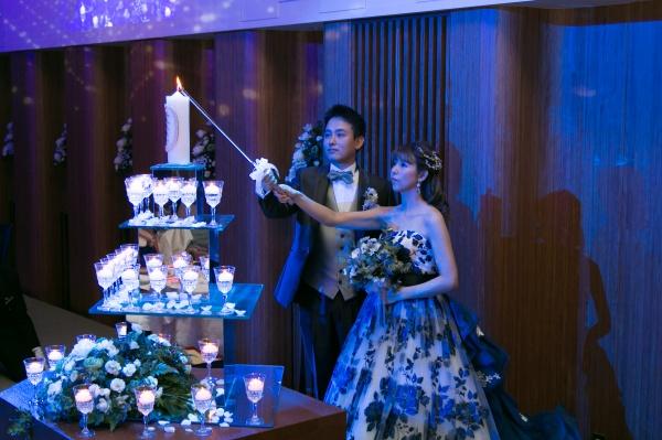 新潟市結婚式場ブライダルステージデュオ キャンドルサービス メインキャンドル