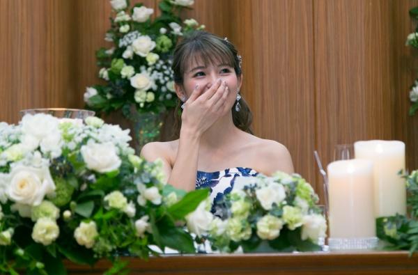 新潟市結婚式場ブライダルステージデュオ サプライズ 手紙