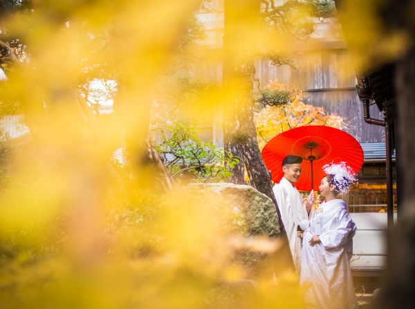 新潟市結婚式場 ブライダルステージデュオ 前撮り撮影 ロケーション撮影