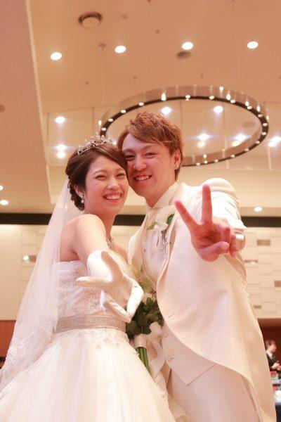 【デュオ花さん❤パーティーレポート】お二人の幸せそうな表情に注目♪幸せいっぱい挙式編