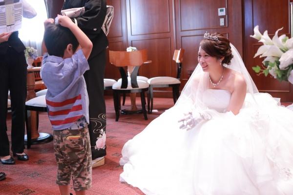 新潟市結婚式場ブライダルステージデュオ 新婦 子供