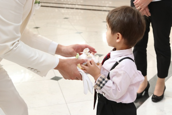 新潟市結婚式場ブライダルステージデュオ リングボーイ