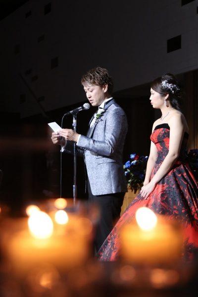 新潟市結婚式場ブライダルステージデュオ 新郎 手紙