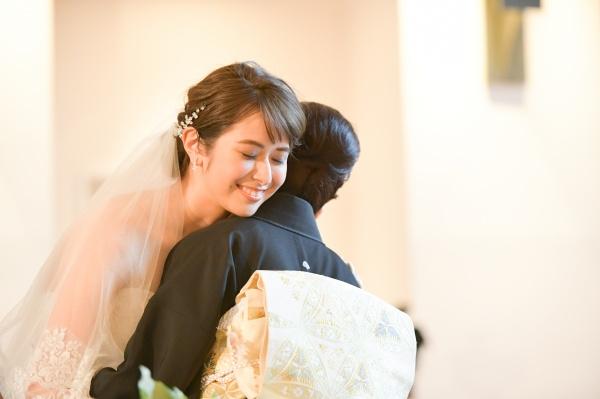 新潟市結婚式場ブライダルステージデュオ チャペル 新婦 母
