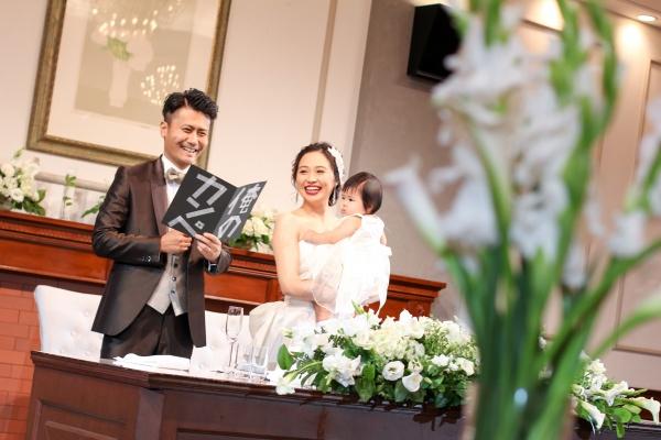 新潟市結婚式場ブライダルステージデュオ オープニングスピーチ
