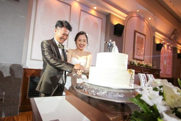 新潟市結婚式場ブライダルステージデュオ ケーキ入刀
