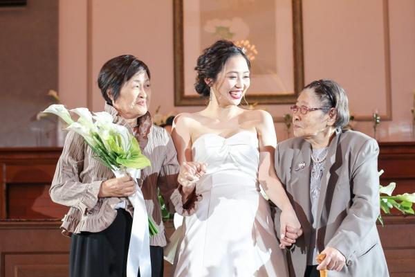 新潟市結婚式場ブライダルステージデュオ 退場