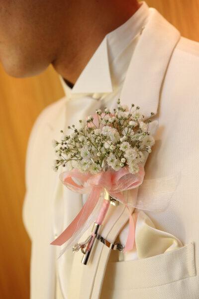 新潟市結婚式場ブライダルステージデュオ ブートニア