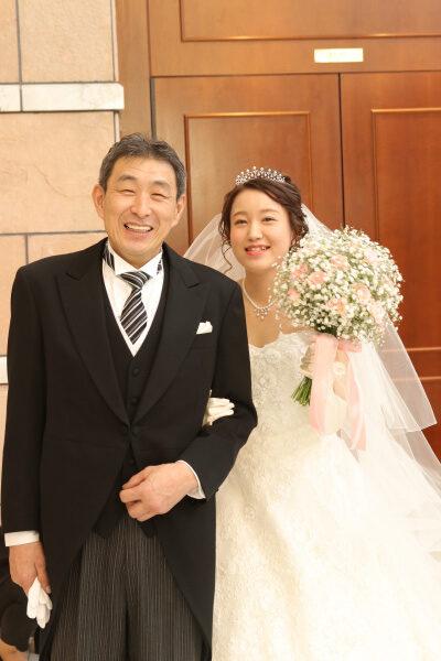新潟市結婚式場ブライダルステージデュオ 新婦 チャペル