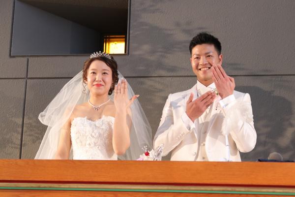 新潟市結婚式場ブライダルステージデュオ 人前式 チャペル